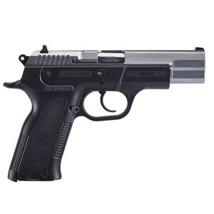 """Sarsilmaz B6 Semi Auto Pistol 9mm Luger 4.5"""" Barrel 10 Rounds Fixed Sights Manual Thumb Safety External Hammer Polymer Frame Two Tone Finish"""