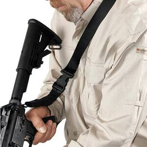 BLACKHAWK! Storm Single Point Quick Detachable Sling Nylon Black