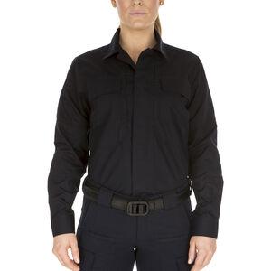 5.11 Tactical Women's Taclite TDU L/S Shirt Small Dark Navy