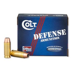 Colt Defense .40 S&W Ammunition 20 Rounds JHP 135 Grains