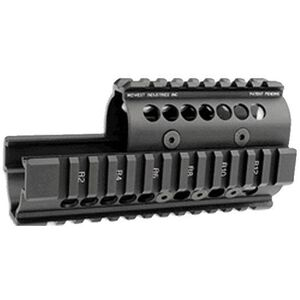 Midwest Industries Saiga Handguard 5.56mm and 7.62x39 Matte Black MI-AK-S