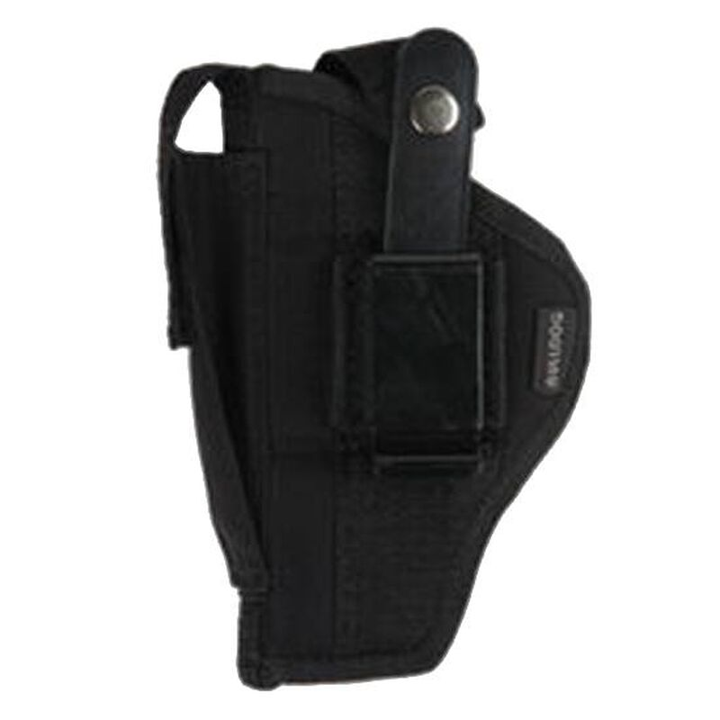 "Bulldog Case Fusion Compact Semi Auto Pistols with 2.5""-3.75"" Barrels Belt Holster Ambidextrous Nylon Black FSN-3"