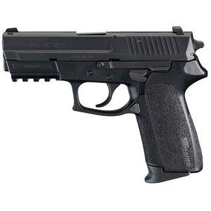 "SIG Sauer SP2022 Semi Auto Pistol 9mm Luger 3.9"" Barrel 15 Round Capacity Polymer Grips Nitron Finish E2022-9-B"
