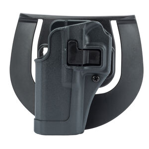 BLACKHAWK! SERPA Sportster Paddle Holster S&W M&P 9/40 Left Hand Polymer Gray 413525BK-L