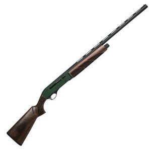 "CZ-USA 712 Green G2 Semi Auto Shotgun 12 Gauge 28"" Vent Rib Barrel 3"" Chamber 4 Rounds Green Anodized Receiver Walnut Stock Matte Black 06432"