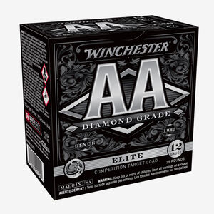 "Winchester AA Diamond Grade 12 Gauge Ammunition 250 Rounds 2 3/4"" #7.5 1 Ounce AADGL12507"