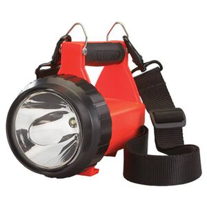Streamlight Fire Vulcan Vehicle Flashlight 8 Function C4 Blue Taillight LED 145 Lumen Rechargeable Battery Click Switch Thermoplastic Orange 444501