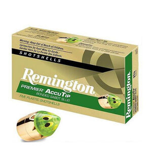 "Remington 20 Gauge Ammunition 5 Rounds 2.75"" Bonded Sabot Slug 260 Grains"