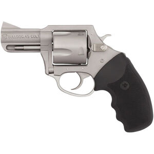 "Charter Arms Bulldog .45 LC Revolver 5 Rounds 2.5"" Barrel Black Rubber Grip Stainless Finish"