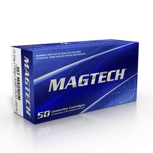 Magtech .357 Magnum Ammunition 1000 Rounds SJSP 158 Grains 357A