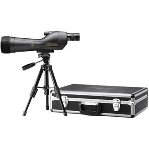Leupold SX-1 Ventana 2 Spotting Scope Kit 20-60x80 Straight Eyepiece with Case and Tripod Grey/Black 170760
