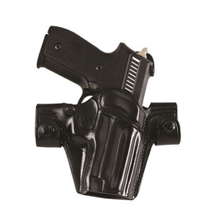 """Galco SSS Side Snap Scabbard Gen 2 Belt Holster Right Hand Fits 1911 Government with 5"""" Barrel Leather Black"""