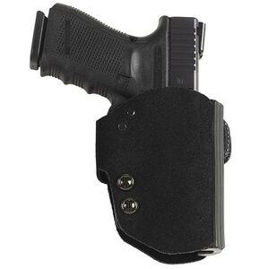 Galco Blakguard Belt Holster For GLOCK 26/27/33 Right Hand Leather/Polymer Black BG286B