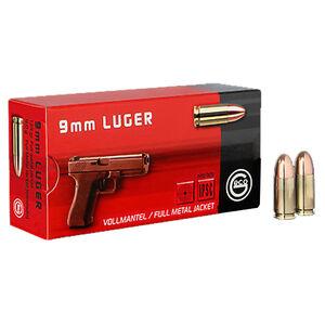 GECO 9mm Luger Ammunition 50 Rounds 115 Grain Full Metal Jacket