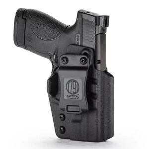 1791 Gunleather Tactical Kydex IWB Holster for Smith & Wesson M&P Shield Right Hand Draw Kydex Matte Black