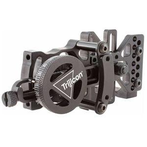 Trijicon Accudial Sight Mount Range Adjustable Right Hand Aluminum Matte Black BW10-BL