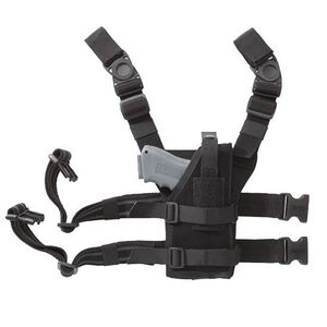 BLACKHAWK! Omega VI Universal Drop Leg Holster Ambidextrous Nylon Black 40ALH1BK