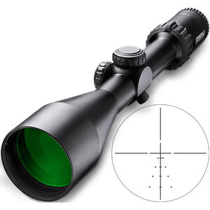 Steiner GS3 3-15x50 Rifle Scope Plex S1 Reticle 30mm Tube 1/4 MOA Fixed Parallax Black