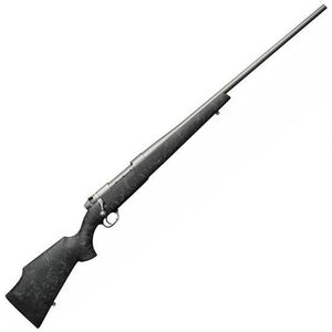 "Weatherby MK V Weathermark .375 H&H Mag Bolt Action Rifle 3 Rounds 24"" Barrel Synthetic Stock Cerakote Grey"
