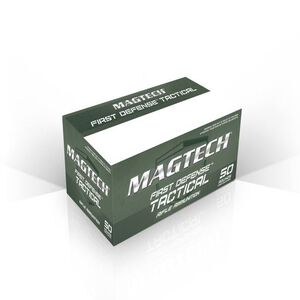 Magtech 5.56 NATO Ammunition 50 Rounds, 62 Grain FMJ, 3100 fps