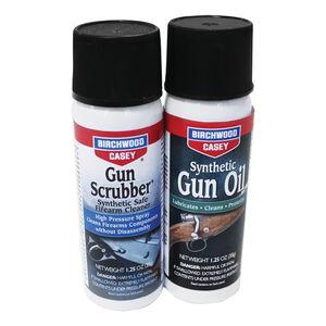 Birchwood Casey Gun Scrubber and Synthetic Gun Oil Combo Pack 1.25oz