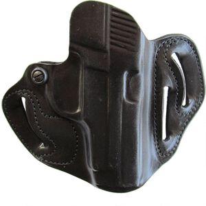 DeSantis Gunhide Speed Scabbard Ruger Security-9 Belt Holster Right Hand Leather Black