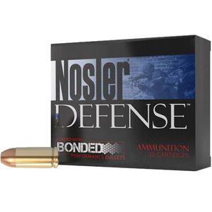 Nosler 9mm Luger 124gr JHP 1300 fps Brass 20 Round