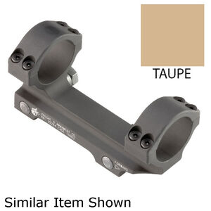 "Knights Armament Company One Piece Scope Mount 30mm Tube Diameter Picatinny Compatible 1.5"" Ring Height Aluminum Construction Taupe"