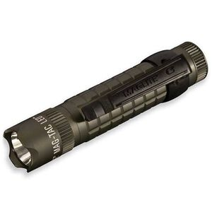 MagLite MAG-TAC LED Flashlight 3 Function 320 Lumen 2x CR123 Battery Tail Cap Switch Striking Bezel Aluminum Body Foliage Green SG2LRB6
