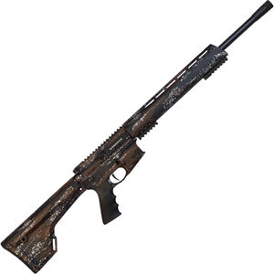 "Brenton USA Ranger Carbon Hunter 6.5 Grendel AR-15 Semi Auto Rifle 22"" Barrel 5 Rounds Free Float Handguard Fixed Stock Harvest Camo Finish"