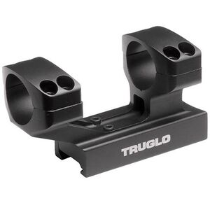 "TRUGLO Tactical Scope Mount 1"" Picatinny Mount Aluminum Black TG8963B"