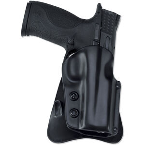 Galco M5X Matrix Paddle Holster Glock 17 22 & 31 Right Hand Plastic Black