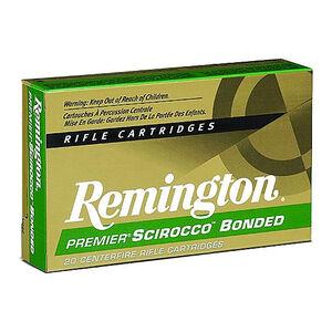 Ammo .300 WSM Remington Premier 180 Grain Scirocco Bonded Bullet 2980 fps 20 Rounds PRSC300WSMB
