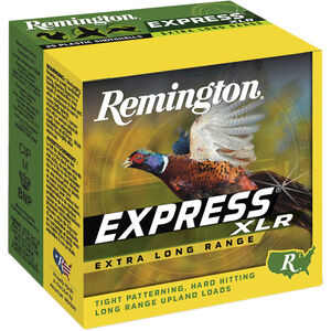 "Remington Express XLR 20 Gauge Ammunition 2-3/4"" Shell #9 Lead Shot 1oz 1220fps"