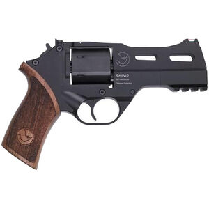"""Chiappa Rhino 40SAR 357 Mag 4"""" 6rds Wood Grips Black"""