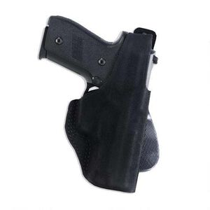 Galco Paddle Lite Kahr MK/PM Series Paddle Holster Right Hand Steer Hide Black PDL460B