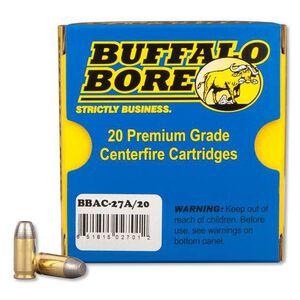 Buffalo Bore .380 ACP +P 100gr Hard Cast LFN 20 Rounds