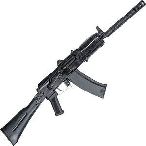 "Arsenal SLR-104UR 5.45x39mm AK Style Semi Auto Rifle 16.2"" Barrel 30 Rounds Gambit Barrel Extension Polymer Handguard Side Folding Stock Black Finish"