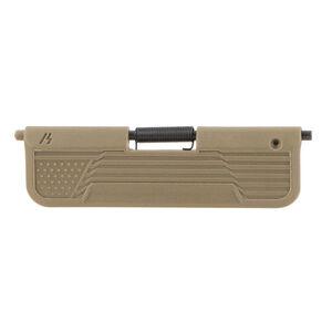 Strike Industries AR-15 Enhanced Ultimate Dust Cover Flag Design 5.56 NATO/.223 Remington Compatible Polymer Construction Flat Dark Earth Finish
