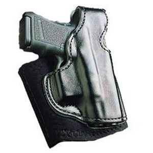 DeSantis Gunhide Die Hard Ankle Rig S&W M&P Shield Ankle Holster Right Hand Leather Black 014PCX7Z0
