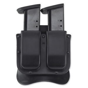 Galco M11X Matrix Double Mag Case Fits GLOCK 17/19 Ambidextrous Polymer Black