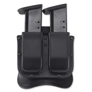 Galco M11X Matrix Double Mag Case Fits GLOCK 17/19 Ambidextrous Polymer Black