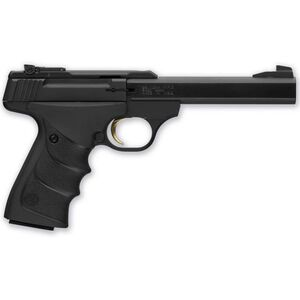 "Browning Buckmark Standard URX Semi Auto Pistol .22 LR 5.5"" Barrel Adjustable Sights Ultragrip RX Grips Black 051497490"