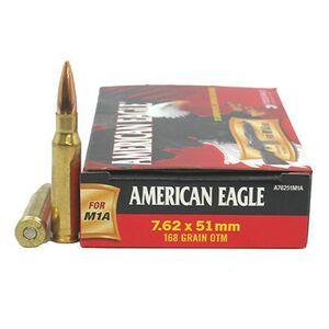 Federal American Eagle 7.62x51mm NATO Ammunition 20 Rounds Open Tip Match 168 Grain 2,650 Feet Per Second