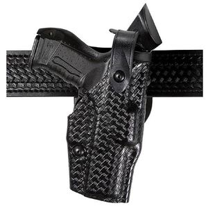 Safariland 6360 ALS Duty Holster Glock 20, 21 Level 3 Retention Right Hand SafariLaminate Basket Black 6360-383-81