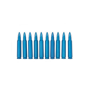 A-Zoom .223 Remington Caliber Snap Caps Aluminum Blue 10 Pack