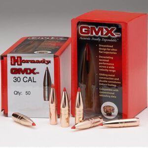 "Hornady .338 Caliber .338"" Rifle Bullets 50 Count GMX BT 185 Grains 33270"