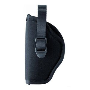 "BLACKHAWK! Hip Holster 4 1/2"" to 5"" Barrel Large Frame Autos, Left Hand, Open End, Black Nylon"