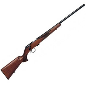 """Anschutz 1416 HB Bolt Action Rifle .22 Long Rifle 23"""" Heavy Barrel 5 Rounds Two Stage Trigger Classic Beavertail Stock Blued Finish 2174008"""