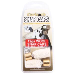 Carlson's 12 Gauge Wool Snap Caps Brass Base  2 Pack